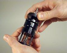 Pocket Cut-up tubular key cutting