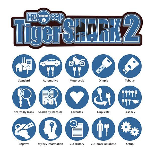 TigerShark2 Key cutting machine