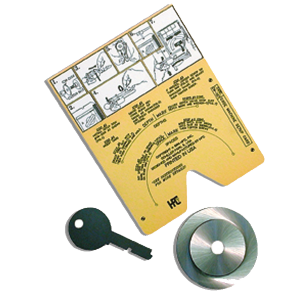 1200CMB Series Calibration Kit Key Cutting
