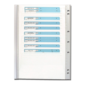 Extra Code Card Storage Panel