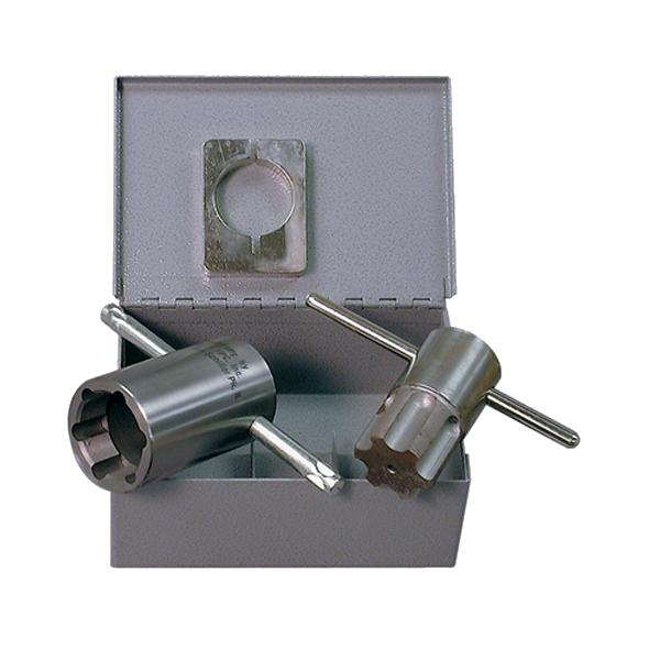 Mortise Cylinder Lock Tap & Die Set