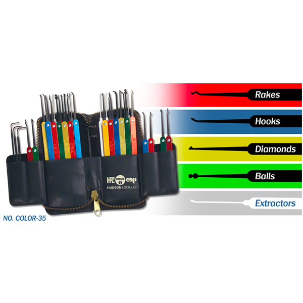 Color Coded Pick Set