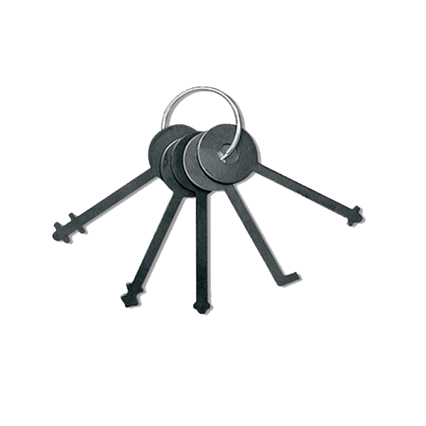 Warded Padlock Pick Set