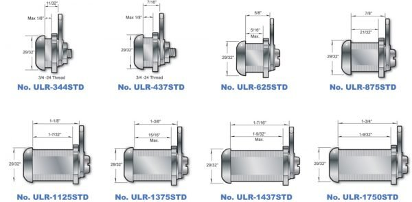 The ULR Series Cam Locks