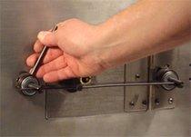 Door & Nose Puller for Safe Deposit Boxes